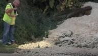 'A TERRA ESTÁ CONTAMINADA PELOS SEUS HABITANTES' (Is. 24, 5)  Lodo misterioso está vertendo do solo em Michigan, nos EUA