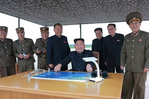 O ditador da Coreia do Norte, Kim Jong Un - 29/08/2017 (KCNA/Reuters)