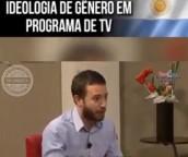 Argentino desmascara ideologia de gênero em programa de tv (Vídeo)