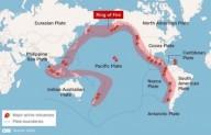 '... E HAVERÁ TERREMOTOS EM VÁRIOS LUGARES...' (Mt 24, 7)   Terra foi atingida por 144 grandes terremotos em uma única semana de agosto
