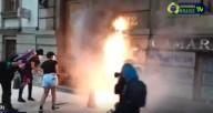 'PORQUANTO DIZEIS: FIZEMOS ALIANÇA COM A MORTE, E COM O INFERNO FIZEMOS ACORDO' (Is. 28, 15)     Incendiando Igrejas e Catedrais