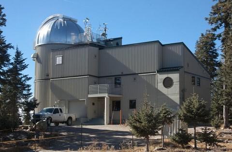LUCIFER, o telescópio do Vaticano localizado no Monte Graham, no Arizona (EUA).
