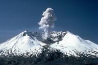 Erupção do vulcão Mount Saint Helens, Washington, 18-05-1980