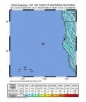Terremoto de 6,5 graus sacode litoral da Califórnia