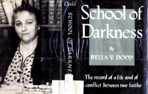 Bella Dodd, e o livro %u2018School of Darkness%u2019.