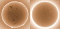 'O SOL SE CONVERTERÁ EM TREVAS...' (Joel 2, 21)    Onde foram parar as manchas solares? O Sol está morrendo?