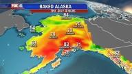 'E O QUARTO ANJO DERRAMOU A SUA TAÇA SOBRE O SOL, E FOI-LHE PERMITIDO QUE ABRASASSE OS HOMENS COM FOGO' (Ap 18, 8)    O Alasca está assando e pegando fogo