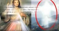 Incrível imagem de Jesus aparece nos céus da Colômbia