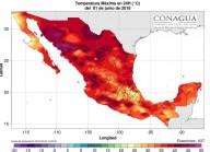 'E OS HOMENS FORAM ABRASADOS COM GRANDES CALORES...' (Ap. 16, 9) - Está tão quente no México que os semáforos estão derretendo - Cidade do México bate recorde de temperatura dos últimos 99 anos