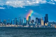 Arcos-íris incompletos aparecendo em todo o mundo