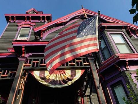 The Black House, Nova York: A atual sede da Igreja de Satanás.