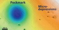 Milhares de crateras misteriosas são encontradas no fundo do mar da costa da Califórnia