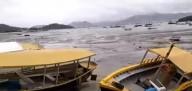 Recuo do mar do sul do Brasil e Uruguai preocupa população