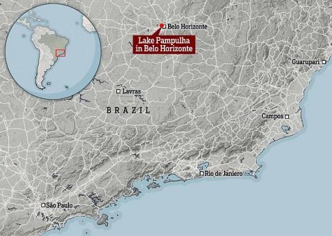 Os cientistas descobriram um vírus misterioso nunca visto, em um lago no Brasil.