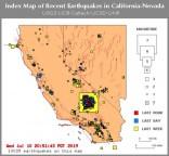 Mais de 10.000 tremores sacudiram a Califórnia e Nevada durante a semana passada