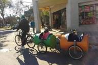 Conheça a bicicleta trem ecológico