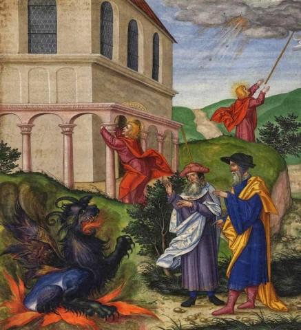 As duas testemunhas lutarão contra o Anticristo.