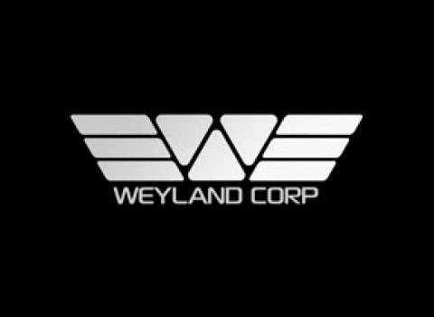 El logotipo de la corporación Weyland es otra referencia al disco solar egipcio.