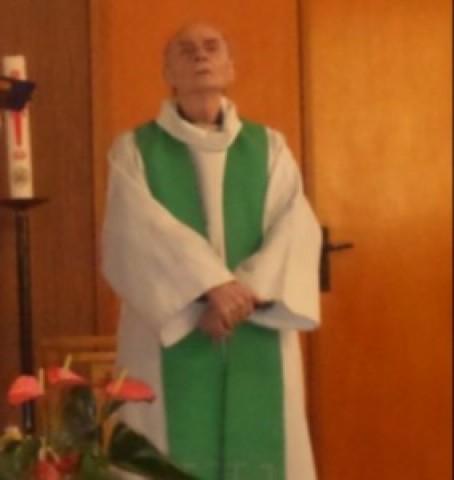 Padre Jacques Hamel, decapitadoem 25 de julho de 2017, por dois terroristas do Estado Islâmico (ISIS).