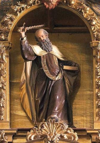 São Elias, Convento da Encarnação, Ávila, Espanha.