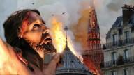 O rosto de Jesus impresso em Notre Dame