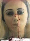 MENSAGEM RECEBIDA COM LACRIMAÇÃO DE SANGUE - Virgem Maria: As Minhas Lágrimas de Sangue são a Minha dor perante a falta de amor no coração dos Meus filhos (11-07-2017)