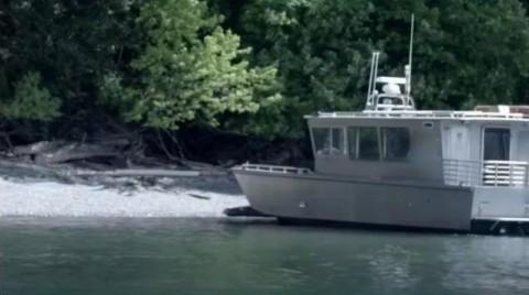 O refúgio fica em uma pequena ilha na costa noroeste dos EUA (Foto: BBC)