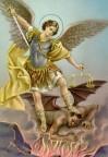 São Miguel: Como príncipe dos Exércitos Celestiais vos faço um chamado, milícia terrena, para que estejais prontos e preparados porque a hora do combate espiritual em vosso mundo está por começar (15-01-2017)