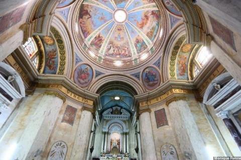 Cúpula do Mosteiro Stella Maris.