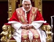Papa Bento XVI – obrigado a descer do trono por coação e chantagem