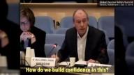 Especialistas da OMS agora admitem diante das câmeras: vacinas estão prejudicando as crianças