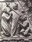 Arrependido de ter vendido sua alma ao diabo, Monge Teófilo foi libertado do pacto pela intervenção de Nossa Senhora