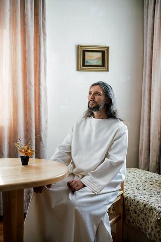Vissarion ou O Cristo da Sibéria.