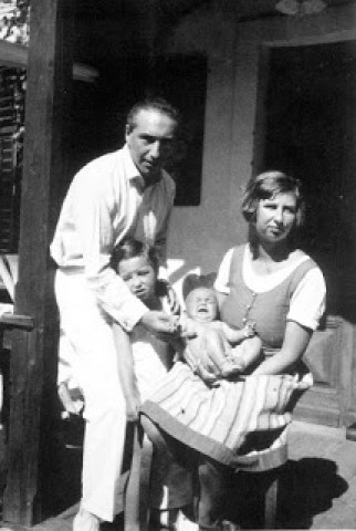Reich e sua primeira esposa, Annie, que lhe conheceu aos 18 anos quando ainda era a sua paciente.