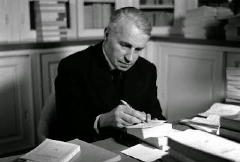 Antropólogo francês Georges Bataille.