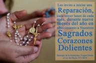 Jesus e Nossa Senhora convocam para NOVENA DE REPARAÇÃO AOS SAGRADOS CORAÇÕES