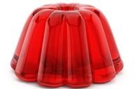 Do que é feita a maioria das gelatinas compradas do mercado?