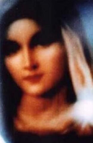 Retrato de Maria de San Damiano (Itália), não humano - ou seja, feito sem intervenção humana.