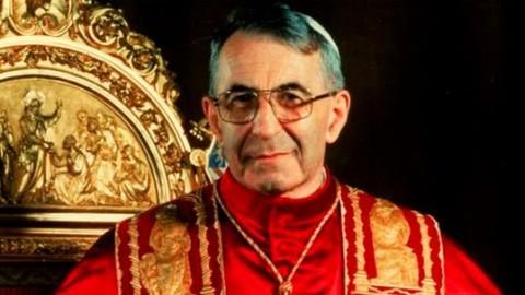 O papa João Paulo I tinha apenas 33 dias no comando da Igreja Católica.
