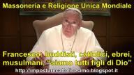Bergoglio, a segunda besta, fala em nome da Maçonaria