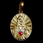 Medalha do Divino Coração de Jesus.