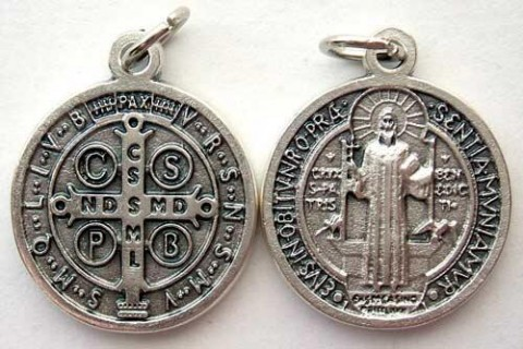 Medalha de São Bento.