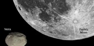 Asteroide 4 Vesta está agora perto o suficiente para ser visto no céu noturno