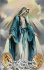 Consagrai minha Medalha Milagrosa e fazei minha jaculatória: 'Ó Maria concebida sem pecado, rogai por nós que recorremos a vós' depois de cada Mistério de meu Santo Rosário, e vos asseguro que obtereis desta Mãe proteção, cura e libertação