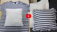 3 dicas para reciclar camisetas velhas sem utilizar costura