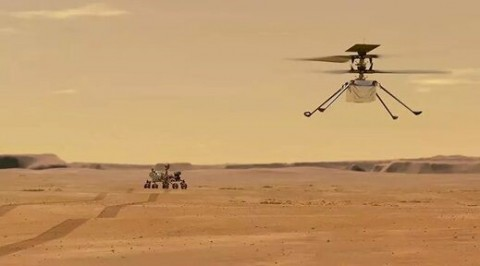 Marte %u2013 Helicóptero Ingenuity