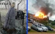 Estátua de Nossa Senhora se mantém perfeitamente intacta após explosão de carro bomba em Base Militar da Colômbia