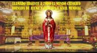 Jesus, Sumo e Eterno Sacerdote: Faço um chamado urgente a todo o mundo católico para que, no próximo 9 de agosto, realize uma jornada de jejum e oração a nível mundial (03-08-2020)