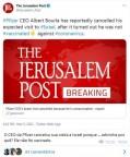 CEO da Pfizer cancela visita a Israel porque... ele não foi vacinado!