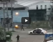 Demônio capturado pela câmera em operação policial no Rio de Janeiro